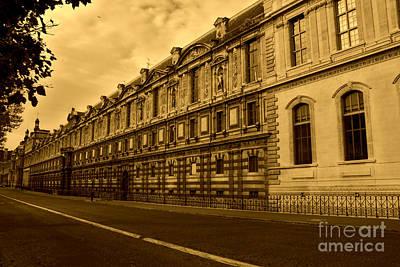 Cityscape Photograph - Musee Du Louvre by Nick Wardekker