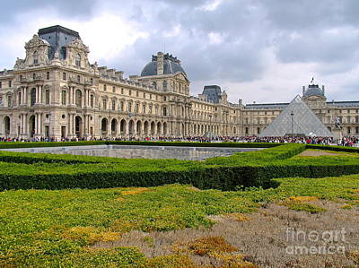 Photograph - Musee Du Louvre by Suzanne Oesterling