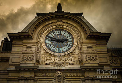 Photograph - Musee Orsay by Inge Johnsson