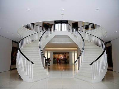 Photograph - Museo De Arte De Ponce - Stairs II by Richard Reeve