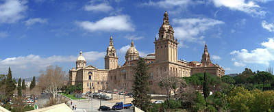 Photograph - Museu Nacional Dart De Catalunya by Panoramic Images