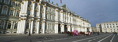 Carriage Road Photograph - Museum Along A Road, State Hermitage by Panoramic Images