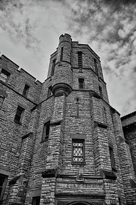 Museum At The Castle  8301 Art Print by Guy Whiteley