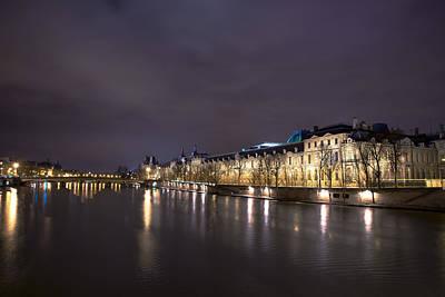 Photograph - Museum Louvre Paris by Radoslav Nedelchev