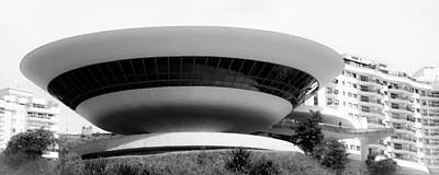 Photograph - Museum Of Art In Niteroi City by Celso Diniz