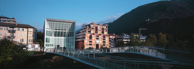 Contemporary Art Museum Photograph - Museum Of Contemporary Art, Bolzano by Panoramic Images