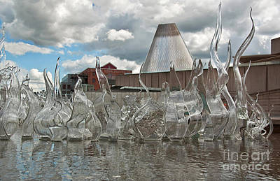 Photograph - Museum Of Glass Attraction In Tacoma Washington by Valerie Garner