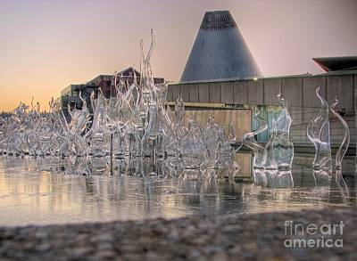 Photograph - The Museum Of Glass by Chris Anderson