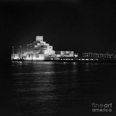 Photograph - Museum Of Islamic Art At Night by Paul Cowan