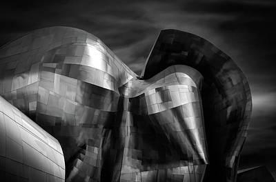 Concert Wall Art - Photograph - Museum Of Pop Culture, Seattle by Gary E. Karcz