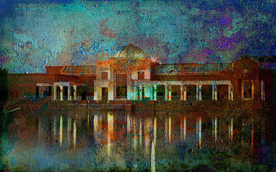 Digital Art - Museum Of Reflections by Greg Sharpe