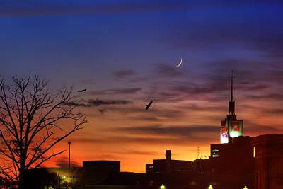 Photograph - Museum Of Science Sunset - Boston by Joann Vitali