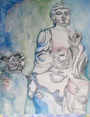 Painting - Museum Presence by Lynn Maverick Denzer