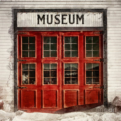 Red Doors Photograph - Museum by Priska Wettstein
