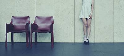 Empty Chairs Photograph - Museum by ??[u-kei]