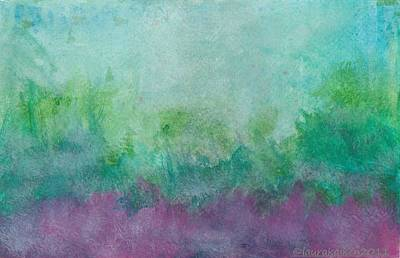 Mixed Media - Purple Haze by Laura K Aiken
