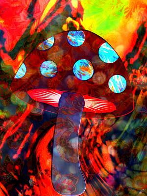 Mushroom Delight Art Print