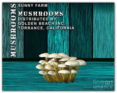 Mushroom Mixed Media - Mushroom Farm by Marvin Blaine