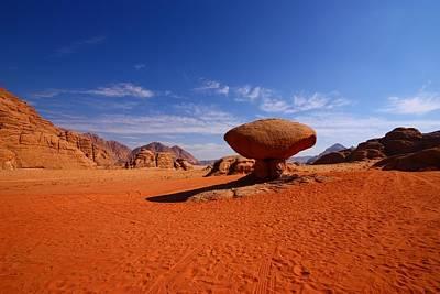 Jordan Photograph - Mushroom Rock by FireFlux Studios