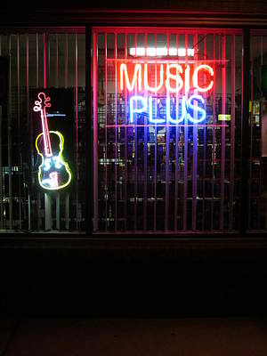 Photograph - Music Always Round Me by Guy Ricketts