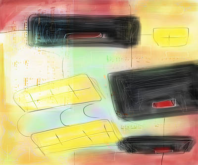 Digital Art - Music And Color by Susan Stone