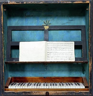 Keyboard Wall Art - Photograph - Music Box by Dirim Nasuh
