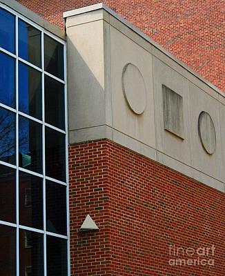 Ou. Ohio University Photograph - Music Building At Ohio University by Karen Adams