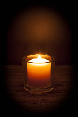 Photograph - Music By Candlelight by Erin Cadigan