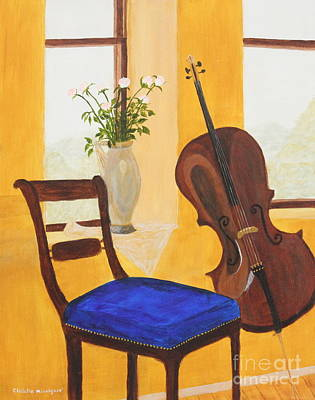Chello Painting - Music by Christie Minalga