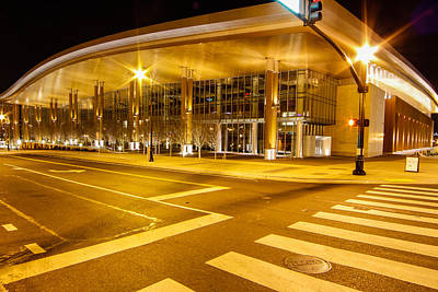 Photograph - Music City Center by Robert Hebert