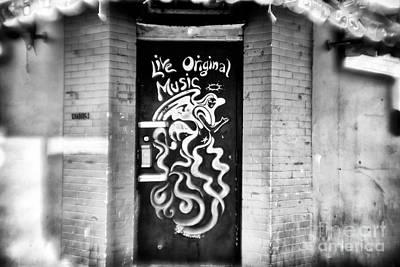 Photograph - Music Door by John Rizzuto