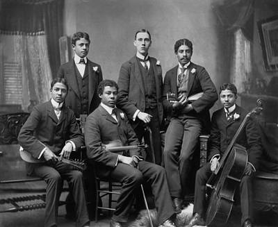 Painting - Music Ensemble, C1899 by Granger