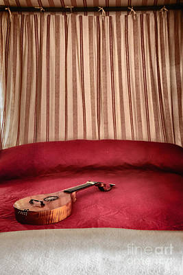 Bed Quilts Photograph - Music For Relaxation by Margie Hurwich