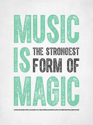 Fantasy Digital Art - Music is Magic by Aged Pixel