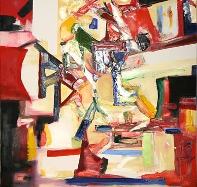 Painting - Music Jazz Passion by Phoenix De Vries