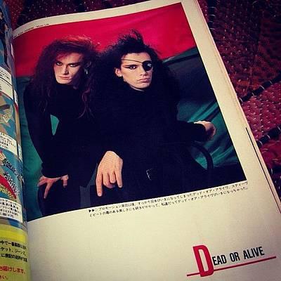 Music Wall Art - Photograph - Music Life - Dec 1985 (japanese Music by Yukiko Nobeno