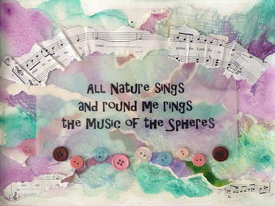 Painting - Music Of The Spheres by Carla Parris