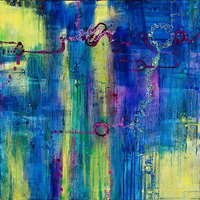Painting - Music Of The Spheres by Regina Valluzzi