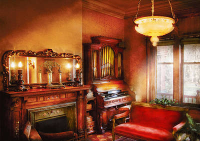 Musician Photograph - Music - Organist - Play Some Music For Me by Mike Savad