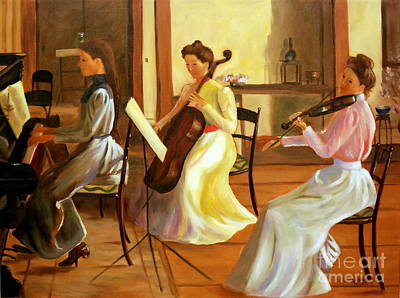 Music Room After Lilla Cabot Perry Original by Rachel Lawson