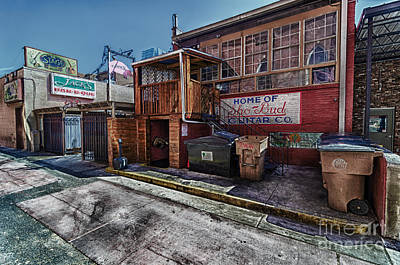 Photograph - Music Row Back Alley by Danny Hooks