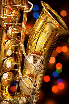 Woodwind Photograph - Music - Sax - Very Saxxy by Mike Savad