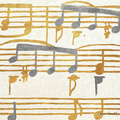 Music Stanzas I Art Print