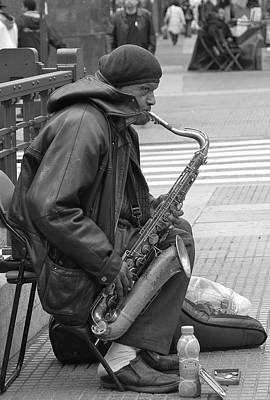 Music Street-saxophone Original