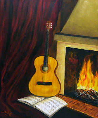 Music Warms The Soul Art Print