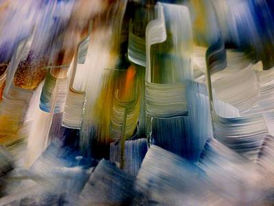 Abstract Painting - Music With Paint by Lisa Kaiser