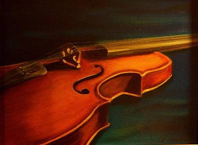 Painting - Musica by Anne Barberi