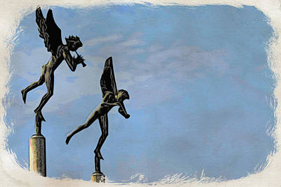 Photograph - Musical Angels by Alice Gipson