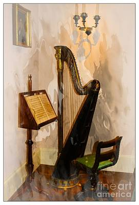 Piano Photograph - Musical Corner by Marcia Lee Jones