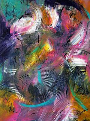 Musical Flow Art Print